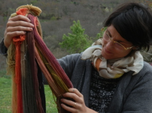Marta Bahillo discovers the world of natural dyes