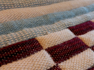 padded fabrics handwoven on the loom
