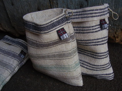 mini galician sacks also up for grabs in the Orense craft fair raffle 2010