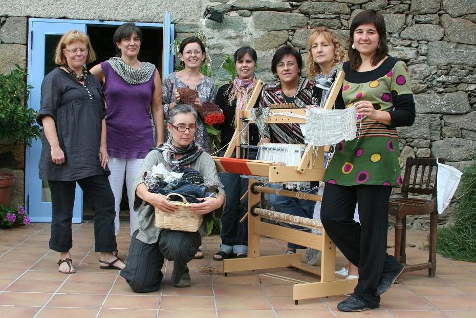 000 tejedoras españolas con lotte dalgaard al final curso