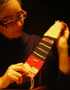 First Attempts - DIY loom weaving