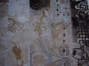 Tapestry by Helle Baslund, Danish hand-weaver