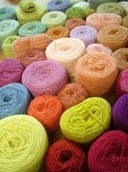 Tintes naturales teñidos por Anna Champeney Estudio Textil (Galicia, España)
