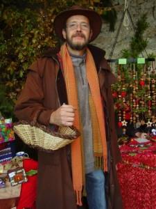 Martin Goetz con la bufanda