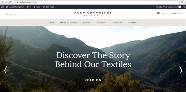 Discover Anna Champeney textiles