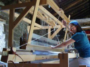 artesanía textil en la Ribeira Sacra, Galicia