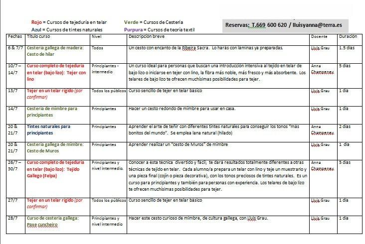 definitive course programme hoja 1a