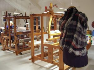 Estilo Danés - el estudio textil de Lotte Dalgaard, tejedora